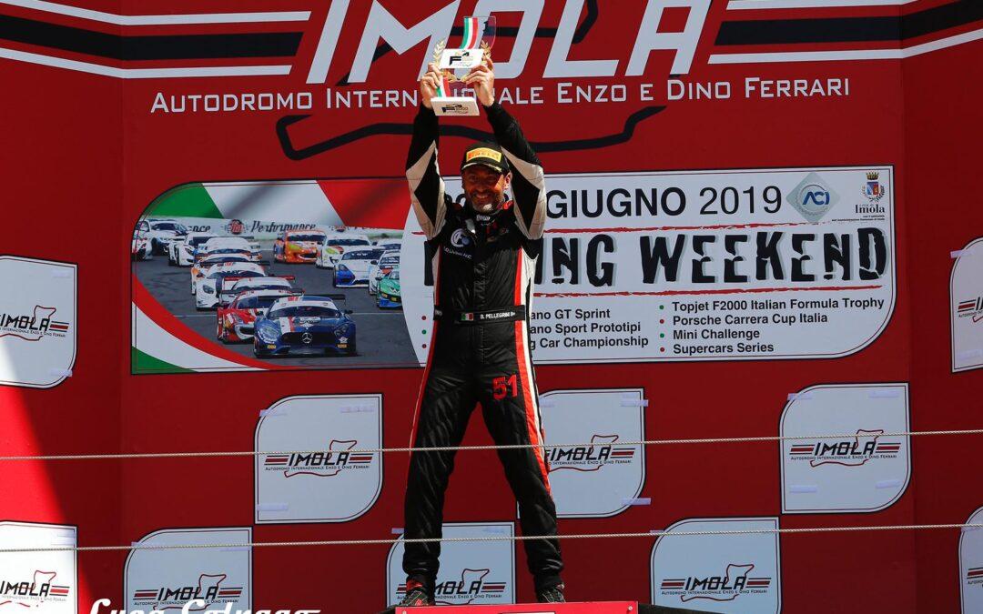 RITORNO VINCENTE PER BERNARDO PELLEGRINI A IMOLA NELLA F2000 ITALIAN TROPHY