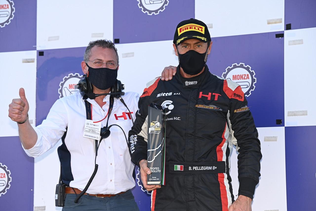Bernardo Pellegrini vince a Monza